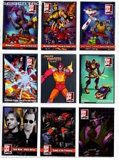Transformers Botcon 2016 Exclusive 10 CARD SET Unsigned Autograph Guest + Sketch