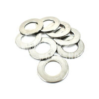 100, M10 A4 MARINE GRADE STAINLESS STEEL FORM B WASHER FOR METRIC BOLTS SCREWS *