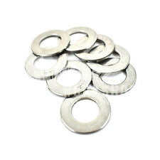 100, M10 A4 MARINE GRADE STAINLESS STEEL FORM B WASHER FOR METRIC BOLTS SCREWS