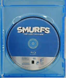 Blu-ray Smurfs: The Lost Village (Blu-ray, 2017)   FREE SHIPPING !