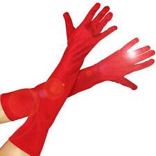 Disfraces de mujer rojos de sintético