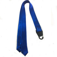 """Men Boy Unisex Skinny Slim Retro Tie Narrow 1.5"""" Wide Thin Necktie Solid Color"""