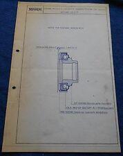 Ferrari 330 GT Circolare Tecnica #62 Blueprint 1966 no brochure book buch press