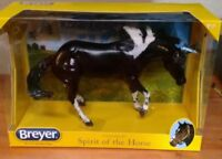 Breyer Paint Me a Pepto NIB 1776 Traditional Working Cow Horse New Pinto Sheila
