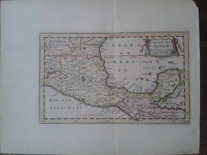 Map Mexico Sanson 1657