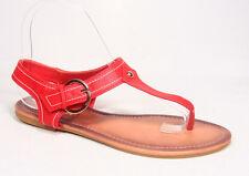 NEW 6 Color Women's Cute T-Strap Buckle Flat Slingback Sandal Shoes Size 6 - 11