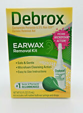 2PK Debrox Earwax Removal Kit Drops with Syringe 0.5 oz 042037104795YN