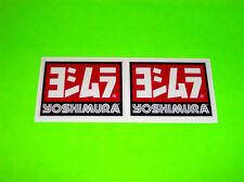 KX KXF CR CRF YZ YZF RM RMZ 85 125 250 450 YOSHIMURA EXHAUST STICKERS DECALS #=