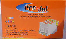 Any 16 NON OEM Compatible projet Cartouches t611 t612 t613 T614
