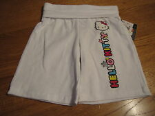 Girls Hello Kitty white long Shorts 3 3T toddler NEW HK55258A NWT^^