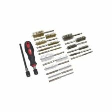 20pc Professional Wire Brush Cleaning Kit Set Metal Remover Dust Rust Brass UK