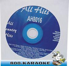 All Hits Karaoke AH8016 Country Favorites CD+G Blue My Maria Sold Hurt Me Karoke
