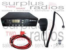 Motorola GTX800 800MHZ LTR 12 Watt Mobile M11UGD6CU1AN Police Security Fire