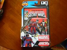 Marvel Universe Secret Wars Comic Series - Magneto and Black Costume Spider-Man