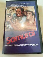 SAMURAI - IVER - VHS - BIG BOX - EX RENTAL - PRE CERT