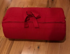 Futon Company Red Roly Poly Single Sleeping Mattress 2ft 6ins