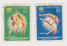 Basketball Central & South American Stamps