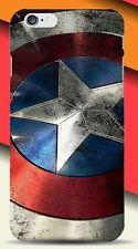 Per iPhone 5 5 S 5SE MARVEL DC Retrò Classico CAPITAN AMERICA USA CUSTODIA COVER
