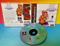 E.T. Interplanetary Mission ET E T -  Playstation 1 2 PS1 PS2 Rare Game Complete
