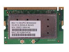 Laptop BROADCOM BCM943222 Mini-PCI 300M 802.11BGN WiFi Wireless Network Card