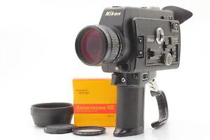 【N MINT All Works】 Nikon R8 Super 8mm Movie Cinema Film Camera From JAPAN #708