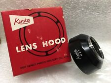 Kenko 27mm Clip-on Metal Lens Hood, Anti-Reflective,Made in Japan, NEW old STOCK