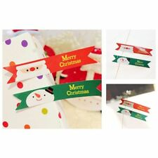 Creative Gift Christmas Seal Tags Packaging Labels Party Baking 120 Pcs/set