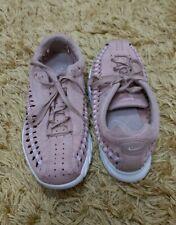 EUC Womens Tan / Pink Nike Mayfly Woven Trainers size 5.5 EU 39