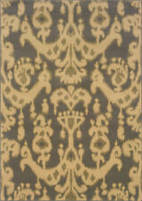 "4x6 Sphinx Washed Damask Casual Beige 3344C Area Rug - Approx 3' 10"" x 5' 5"""