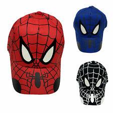 Baby Kids Boys Girl Spiderman Snapback Baseball Cap Sports Gym Adjustable Hat