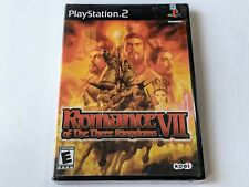 Romance of the Three Kingdoms VII for PlayStation 2 PS2 **BRAND NEW**