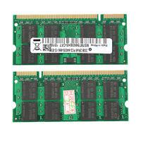4GB 2x 2GB DDR2 800 Mhz PC2-6400 SODIMM Speicher Memory RAM für Notebook Laptop
