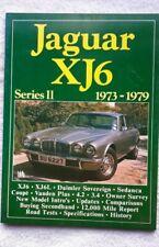 Jaguar XJ6 Series 2 Brooklands Road Tests **PLUS ** XJ 3.4 4.2 SERIES 2 HANDBOOK