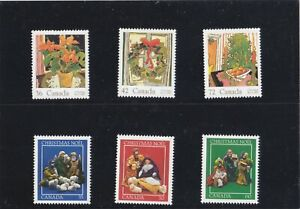 """CANADA, 1975-1976, """"CHRISTMAS""""23 STAMP SETS MINT NH. FRESH IN GOOD CONDITION"""
