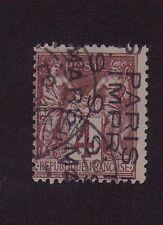 Préoblitéré N°2 4 c lilas-brun type sage 4 lignes