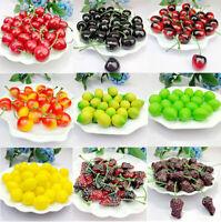 5/10PCS Artificial Decorative Plastic Fruit Home Decor Garden House Kitchen