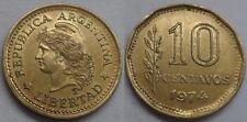 Argentinien 10 Centavos 1974