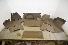 Jaguar XJS FACELIFT LATE COUPE REAR BOOT CARPET TRUNK LINING SET BROWN RATTAN