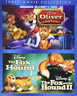 Disney 3 Movie Collection Blu-Ray: Oliver and Company / The Fox and Hound 1 & 2