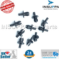 10X FRONT WHEEL ARCH LINER CLIPS INNER WING TRIM RIVETS FOR VAUXHALL ASTRA