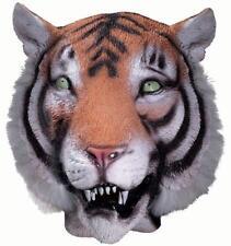 Tiger Mask Jungle Safari Animal Fancy Dress Up Halloween Adult Costume Accessory