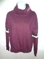 Victorias Secret PINK burgundy top turtleneck L/S  sweatshirt S small shirt