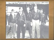 "Charles Ozuk ""Doolittle Raiders"" Crew # 3 Autographed 8 x 9 Picture Tokyo Japan"