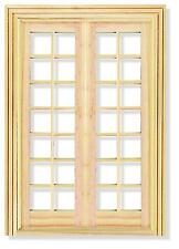 Dolls House 1/12 scale   French Door   DIY110