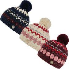 Regatta Kinder Hedy Lux Lll Winter Warm Fleecefutter Norweger Strick Pudelmütze