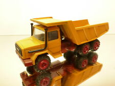 CURSOR 280 IVECO MAGIRUS DEUTZ 256M26 AK TRUCK - YELLOW 1:50 - GOOD CONDITION