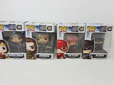 Funko POP! Vinyl Bundle - Justice League Flash, Aquaman etc NEW w/ damaged boxes