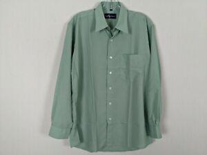 Vintage Ralph Lauren sea green long sleeve button front shirt sz L