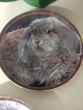 "Bradford Exchange "" Bunny Tales� Decorative Plate collection"