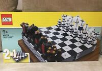 Lego Chess Set 40174 New Sealed Very RARE Special Edition NEW Draughts